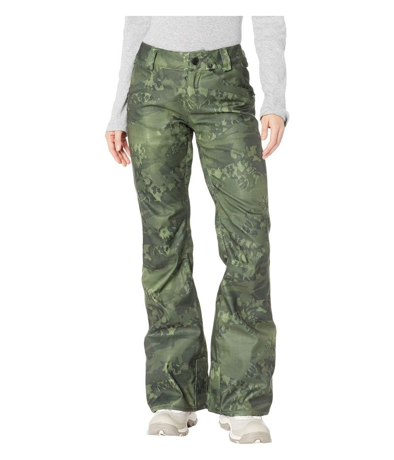 ボルコム レディース カジュアルパンツ ボトムス Species Stretch Pants Camouflage