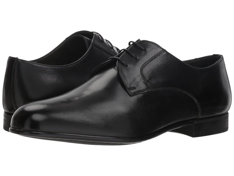 カナーリ メンズ オックスフォード シューズ Plain Toe Oxford Black