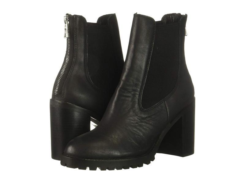 チャイニーズランドリー レディース ブーツ・レインブーツ シューズ Jersey Black Leather