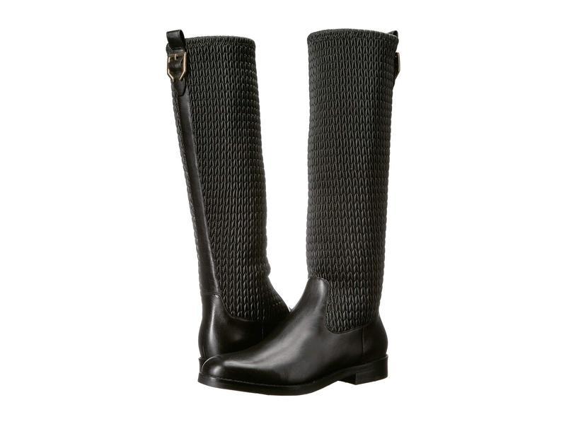 コールハーン レディース ブーツ・レインブーツ シューズ Lexi Grand Stretch Boot Black Leather