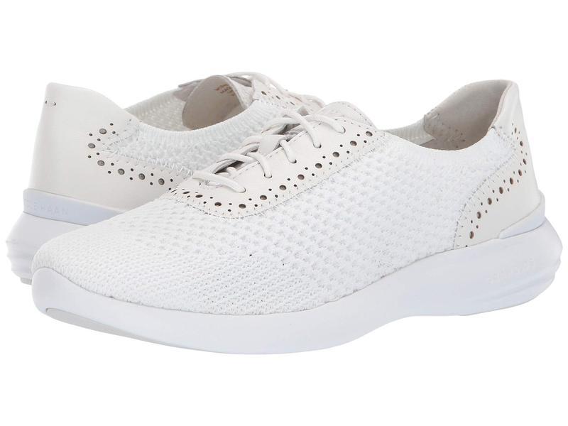 コールハーン レディース スニーカー シューズ 2.0 Ella Grand Knit Oxford Optic White Knit/Optic White Leather/Optic White