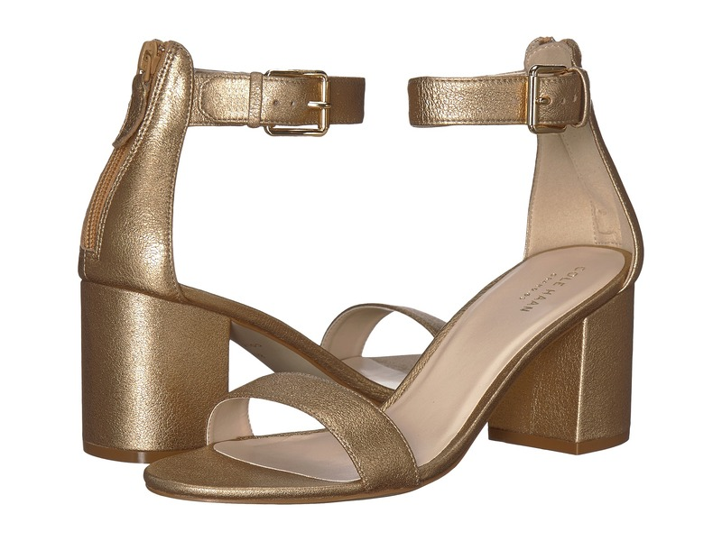 コールハーン レディース サンダル シューズ Clarette Sandal II Soft Gold Leather