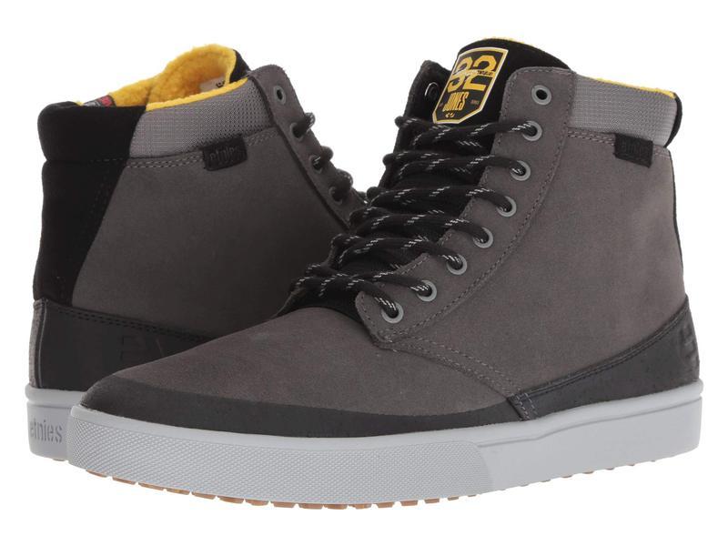 エトニーズ メンズ スニーカー シューズ Jameson HTW X 32 Grey/Black/Yellow