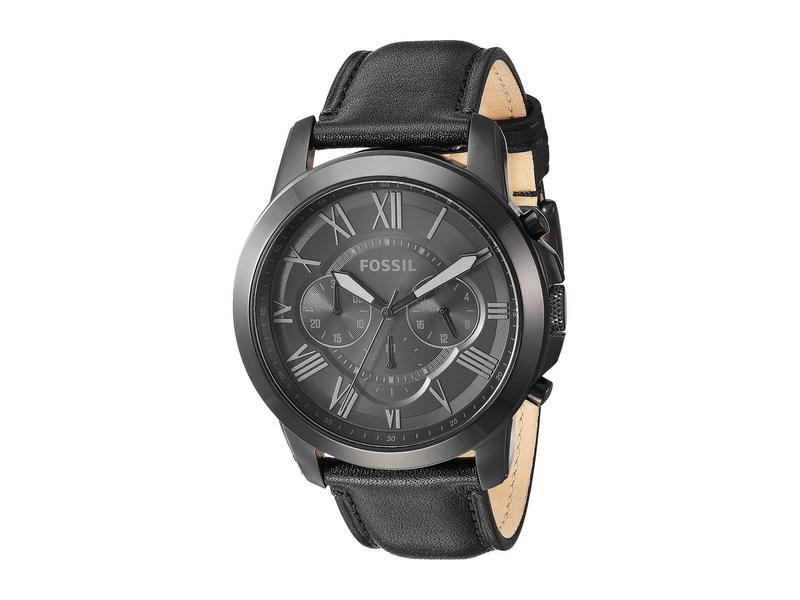 フォッシル メンズ 腕時計 アクセサリー Grant - FS5132 Black
