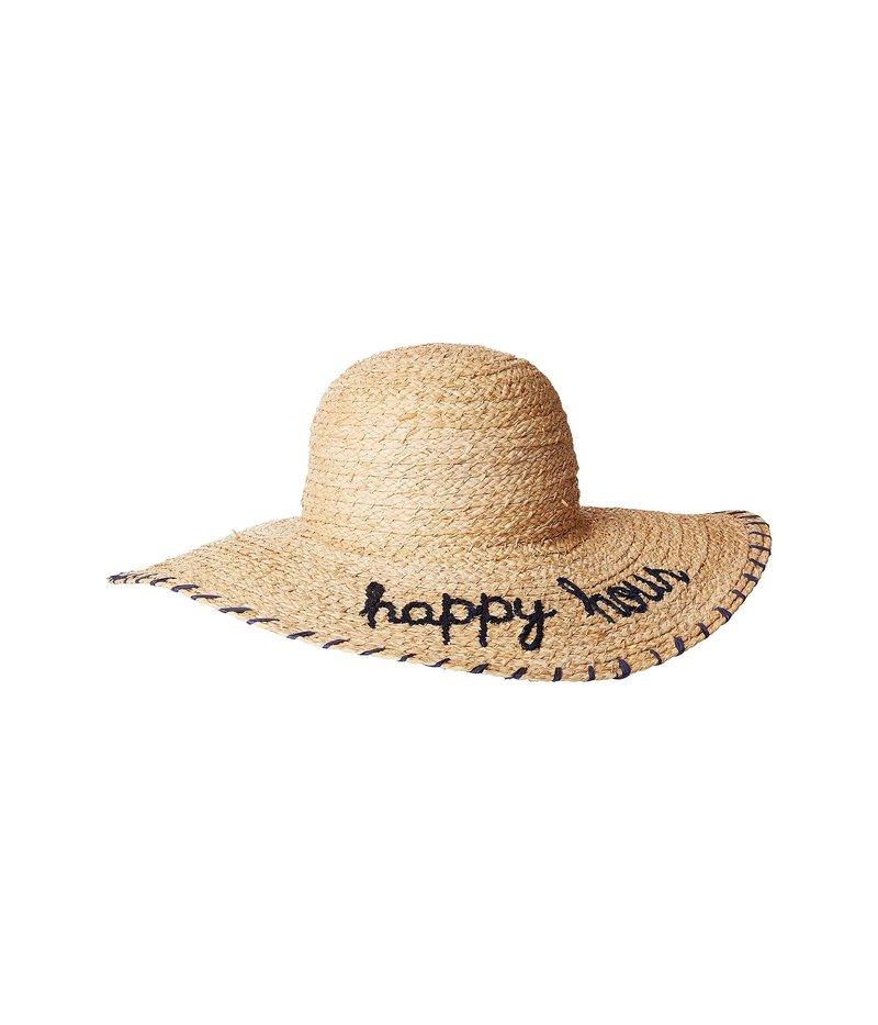 ハットアタック レディース 帽子 アクセサリー What's Your Motto Sun Hat Happy Hour