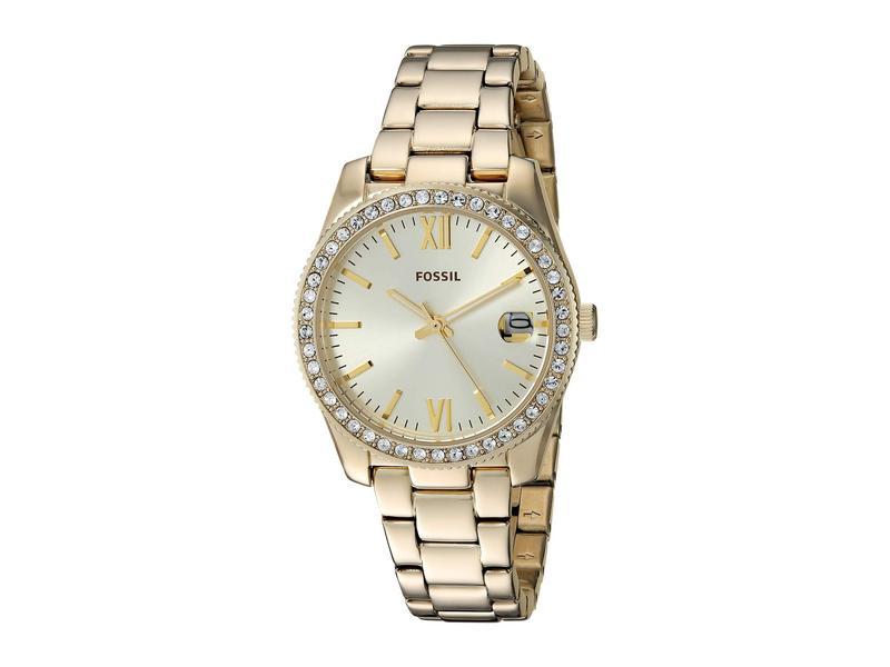 フォッシル レディース 腕時計 アクセサリー Scarlette - ES4374 Gold