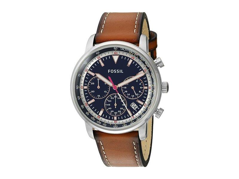 フォッシル メンズ 腕時計 アクセサリー Goodwin Chrono - FS5414 Brown