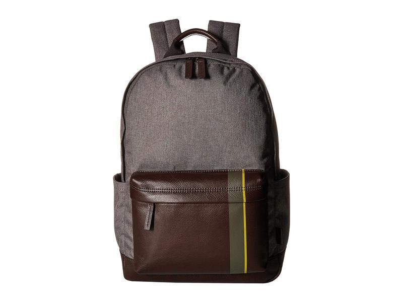 フォッシル メンズ バックパック・リュックサック バッグ Buckner Backpack Titanium