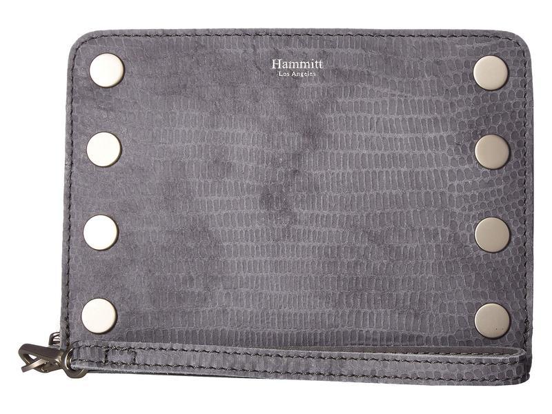 ハミット レディース ハンドバッグ バッグ 605 South Wristlet Slate Tejus/Slate Lust/Brushed Silver