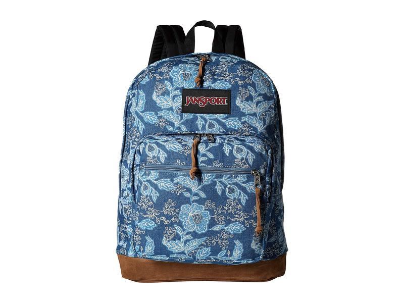 ジャンスポーツ メンズ バックパック・リュックサック バッグ Right Pack Expressions Batik Blue Denim