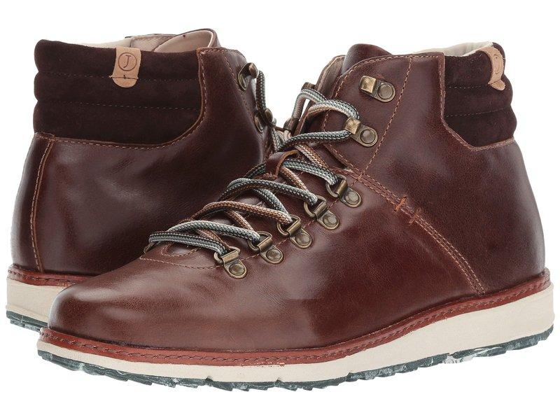 ジャンブー メンズ ブーツ・レインブーツ シューズ Rushmore Water-Resistant Brown Full Grain Leather/Kid Suede