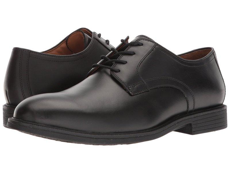 ジョンストンアンドマーフィー メンズ オックスフォード シューズ Waterproof XC4 Hollis Plain Toe Dress Casual Oxford Black Waterproof Full Grain