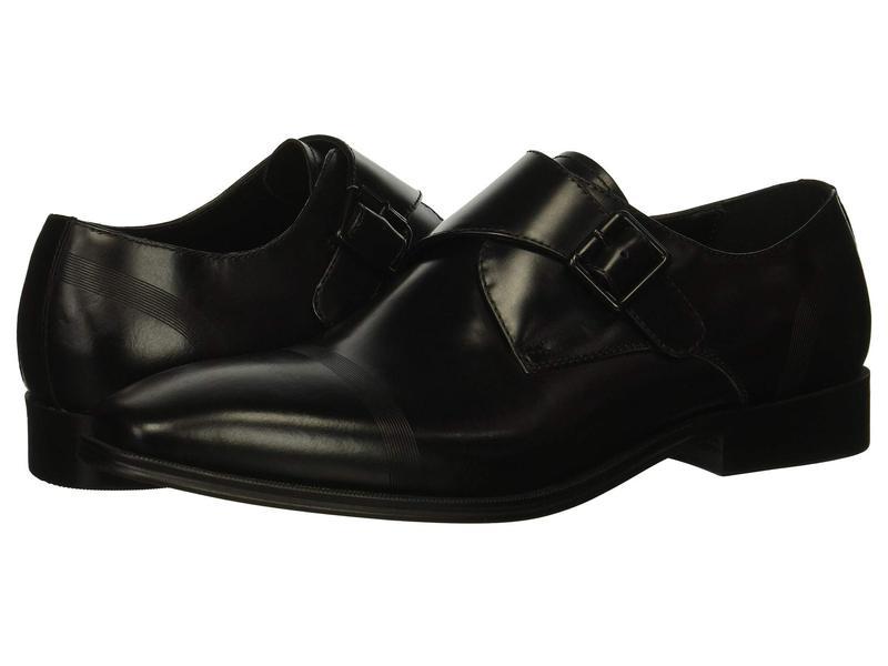 ケネスコール メンズ オックスフォード シューズ Pure Monk B Black