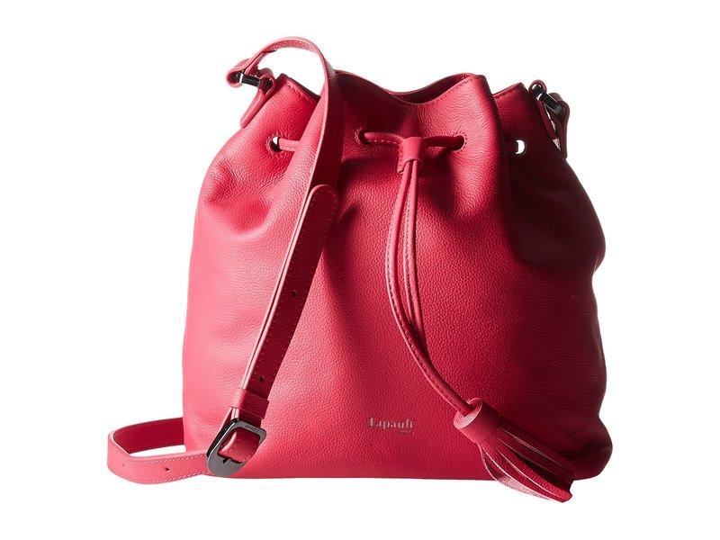 リパルトパリ レディース ハンドバッグ バッグ Plume Elegance Leather Bucket Medium Bag Tahiti Pink