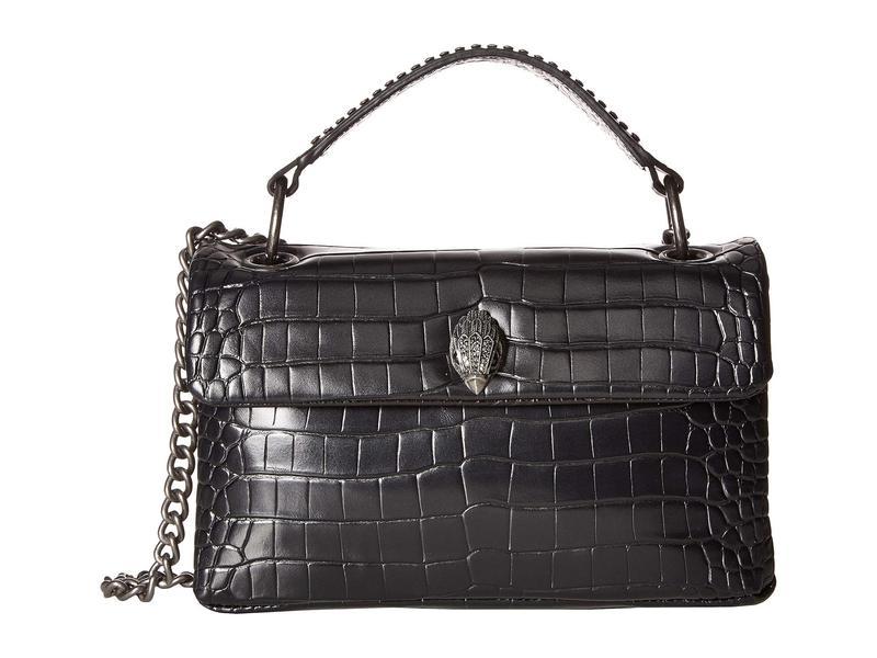 カートジェイガーロンドン レディース ハンドバッグ バッグ Croc Kensington Bag Black