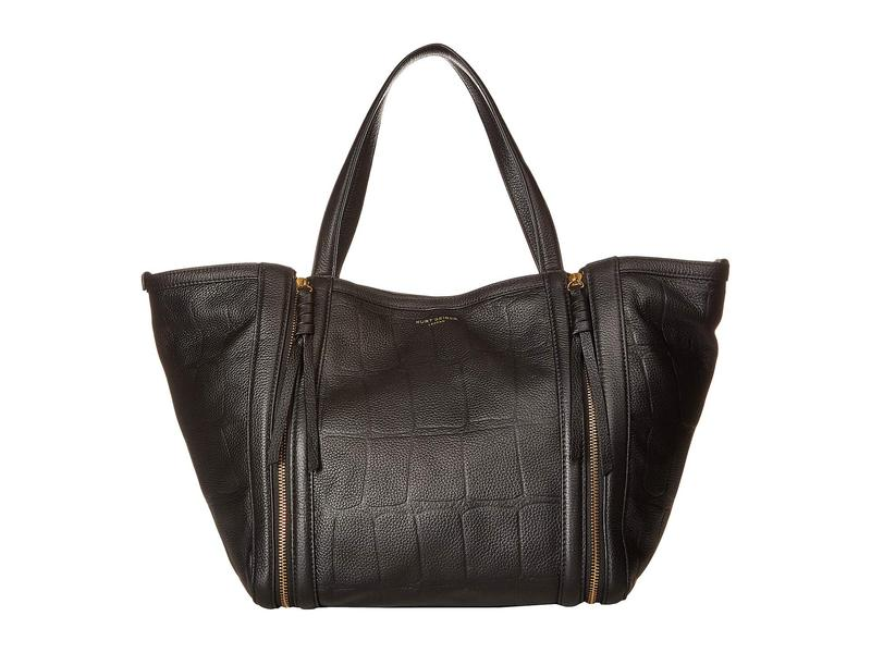 カートジェイガーロンドン レディース ハンドバッグ バッグ Leather Jane Shopper Black