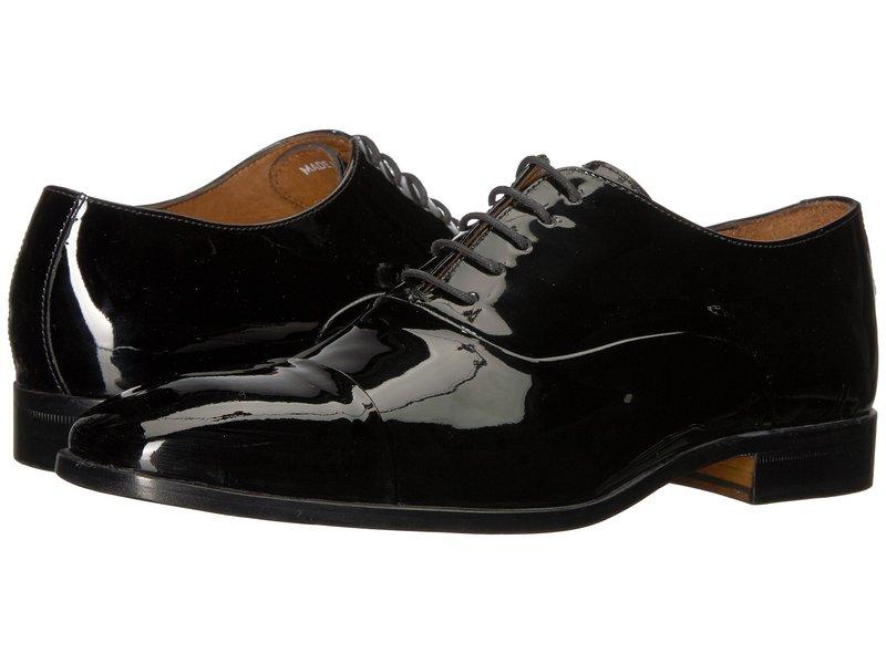 マッシモマッテエロ メンズ オックスフォード シューズ Patent Formal Bal Black/Black