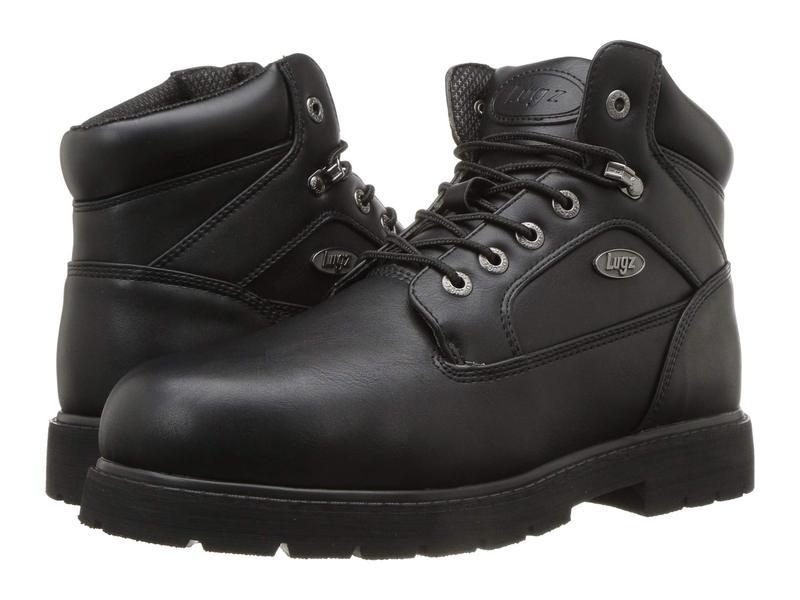 ラグズ メンズ ブーツ・レインブーツ シューズ Mortar Mid Steel Toe Chukka Boot Black