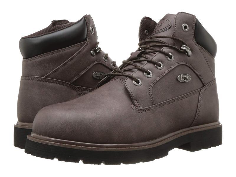 ラグズ メンズ ブーツ・レインブーツ シューズ Mortar Mid Steel Toe Chukka Boot Coffee/Black