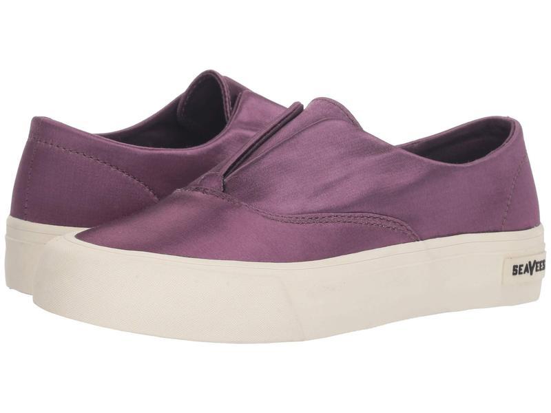 シービーズ レディース スニーカー シューズ Sunset Stripe Sneaker Dark Violet