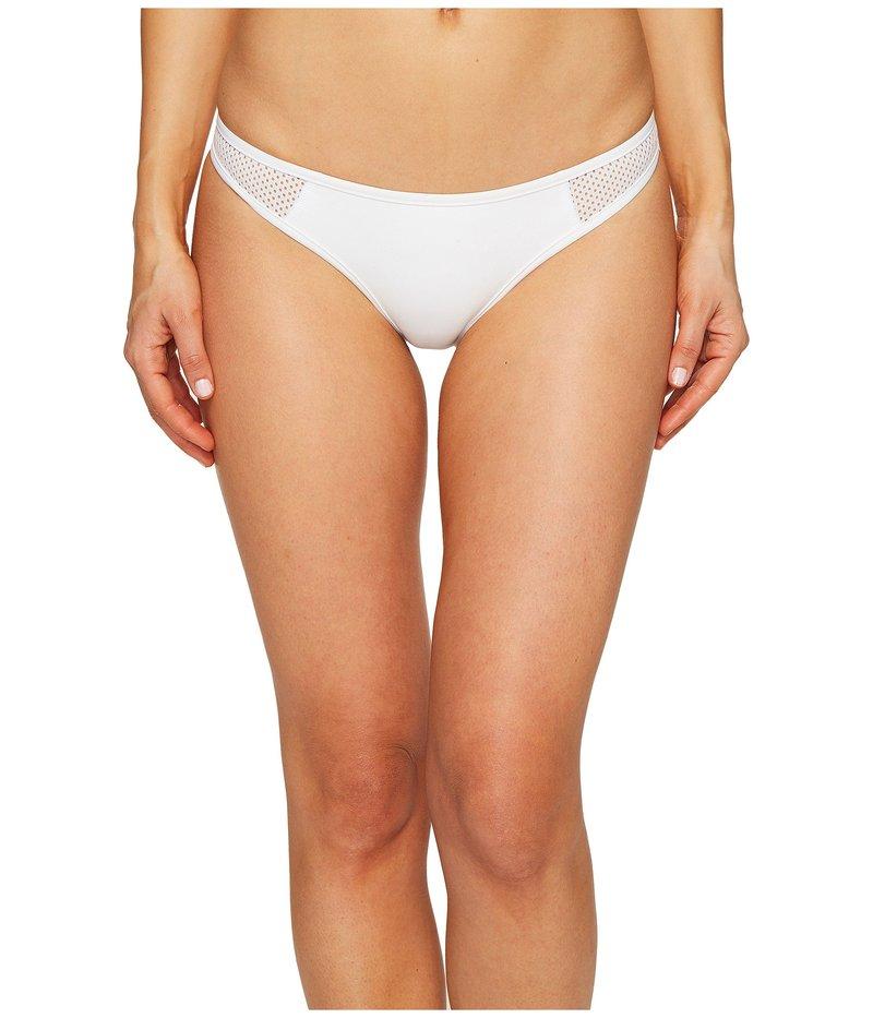 ステラマッカートニー レディース ボトムのみ 水着 Neoprene & Mesh Classic Bikini Bottom White