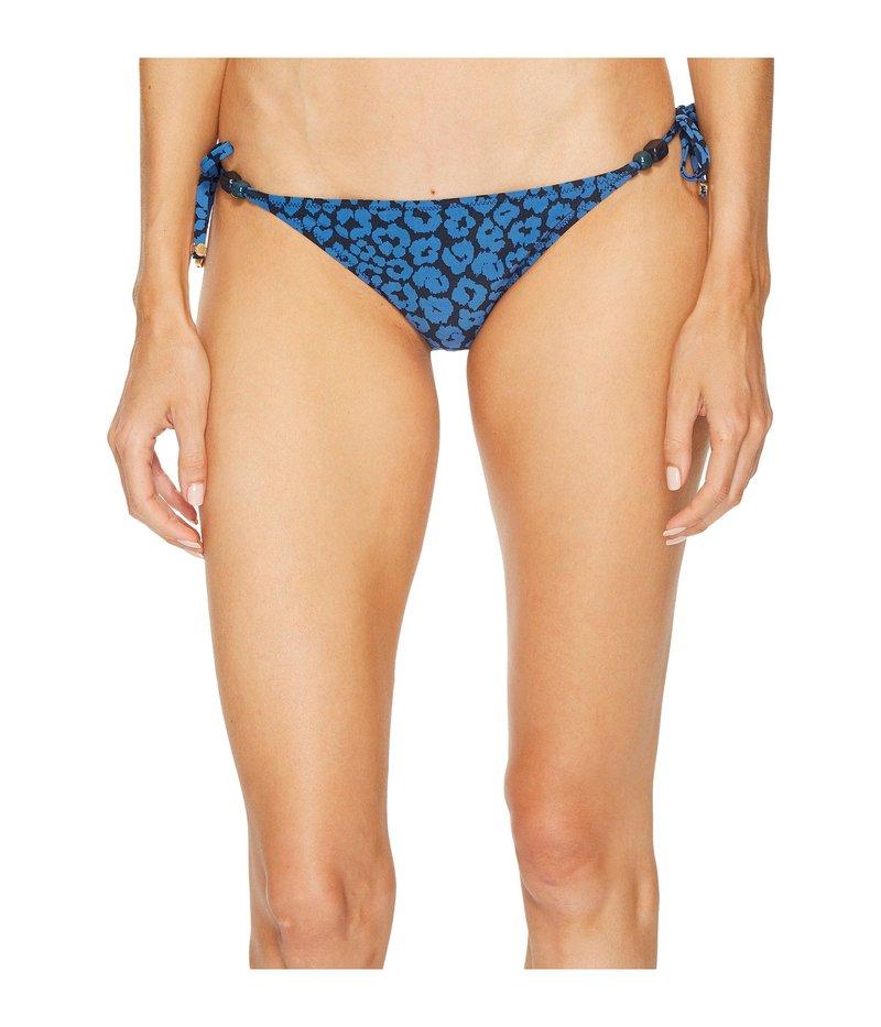 ステラマッカートニー レディース ボトムのみ 水着 Leopard Tie Side Bikini Bottom Marlin Leopard