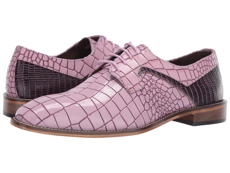 ステイシーアダムス メンズ オックスフォード シューズ Giansanti Lavender Multi
