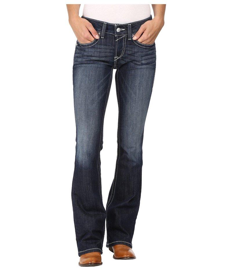 アリアト レディース デニムパンツ ボトムス R.E.A.L. Bootcut Rosey Whipstitch Jeans in Lakeshore Lakeshore