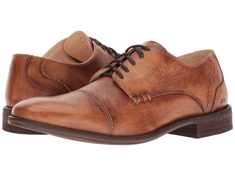 ベッドステュ メンズ オックスフォード シューズ Bessie Tan Driftwood Leather