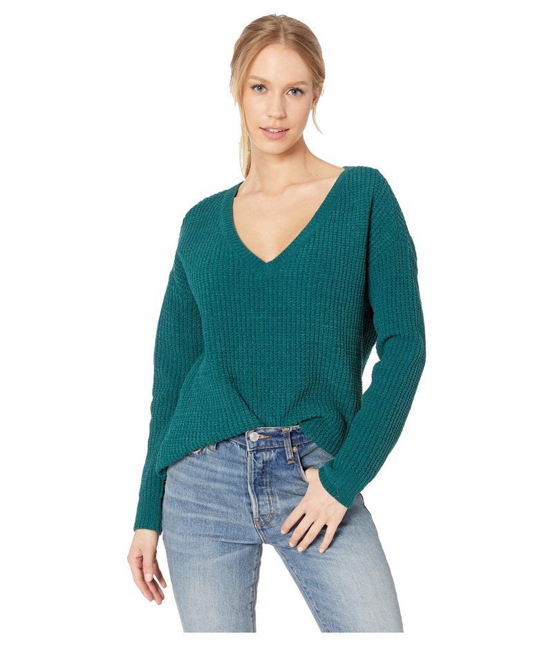 ビービーダコタ レディース ニット・セーター アウター Cool Runnings V-Neck Sweater Winter Green