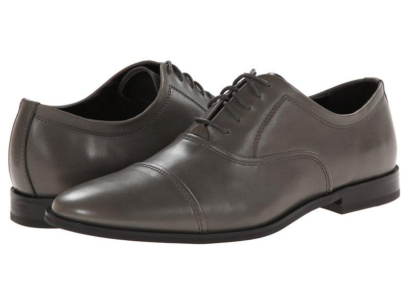 カルバンクライン メンズ オックスフォード シューズ Nino Pewter Leather
