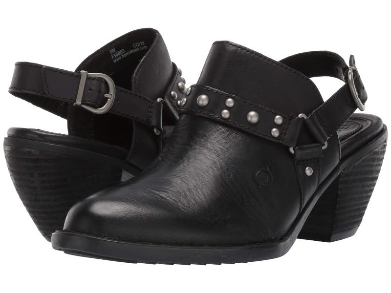 ボーン レディース ヒール シューズ Pindo Black Full Grain Leather