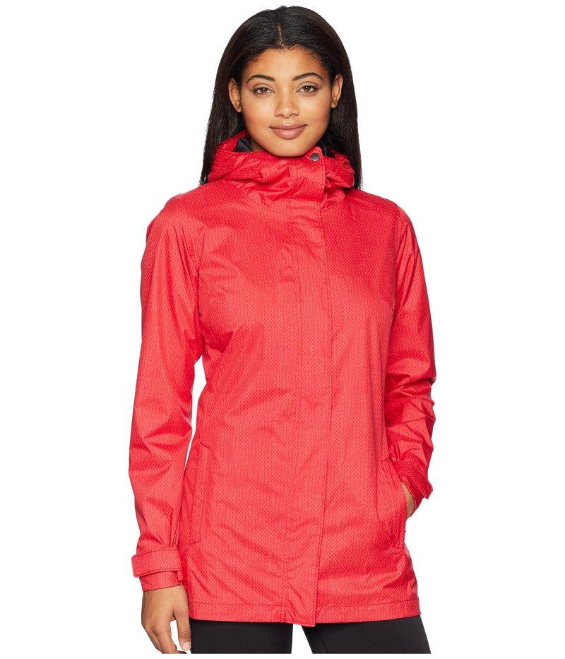 コロンビア レディース コート アウター Splash A Little II Rain Jacket Red Mercury Stars Print