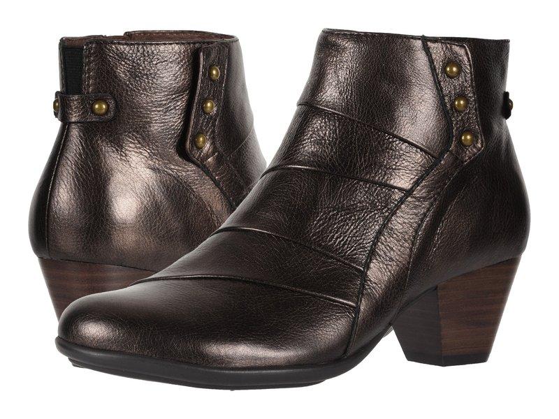 アース レディース ブーツ・レインブーツ シューズ Hope Bronze Santos Medium Tipping Metallic Leather