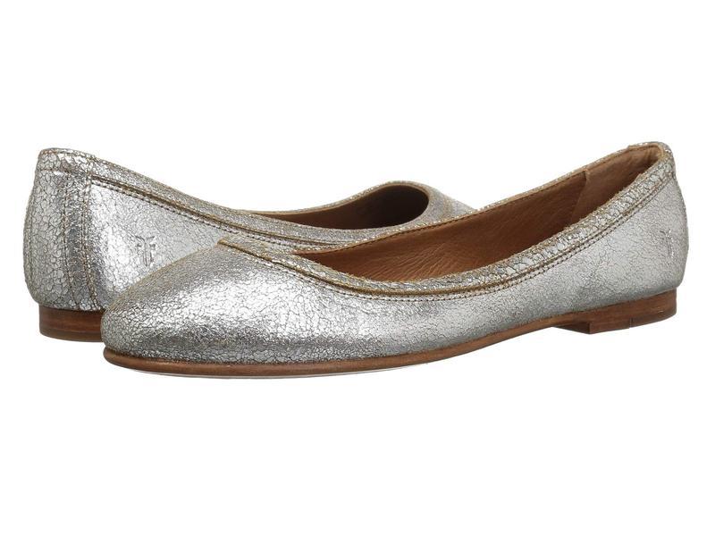 フライ レディース サンダル シューズ Carson Ballet Silver Multi Brushed Metallic
