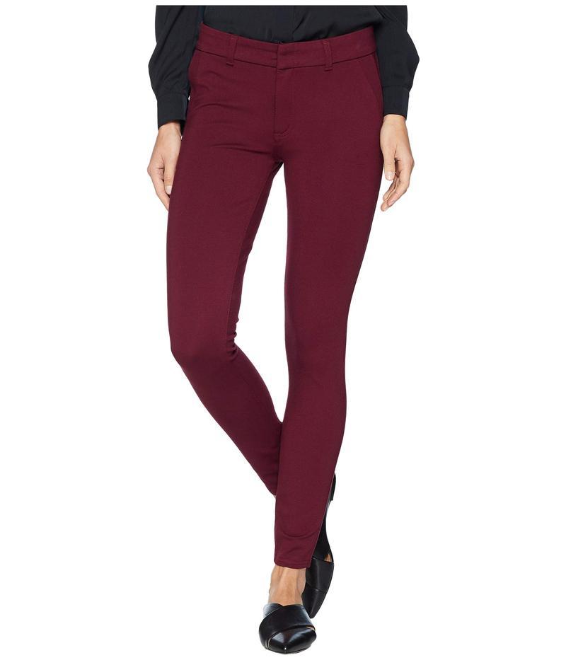 カットフロムザクロス レディース デニムパンツ ボトムス Mia Ankle Skinny Jeans with Front Faux Pockets in Wine Wine