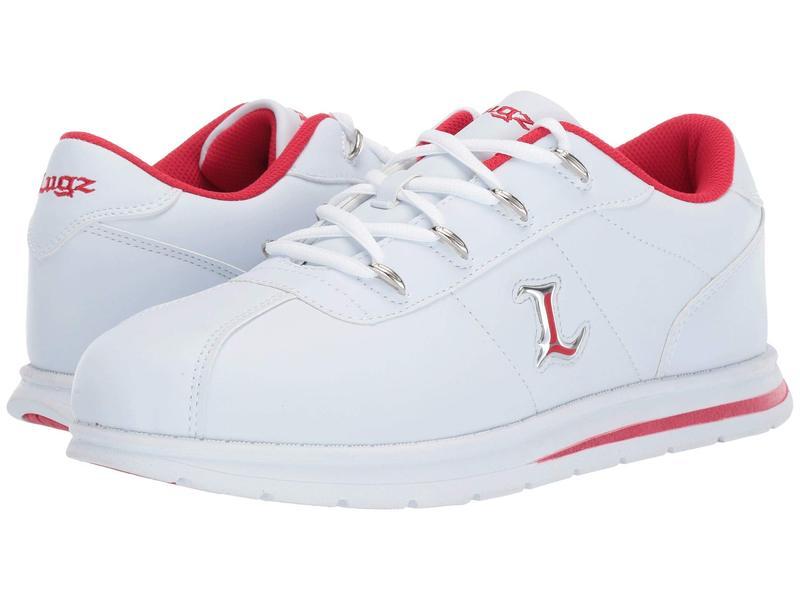 ラグズ メンズ スニーカー シューズ ZROCS White/Mars Red