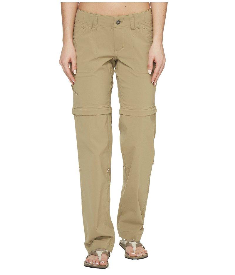 マーモット レディース カジュアルパンツ ボトムス Lobo's Convertible Pants New Desert Khaki