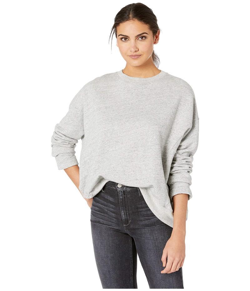 エージー アドリアーノゴールドシュミット レディース パーカー・スウェット アウター Berdine Sweater Heather Grey