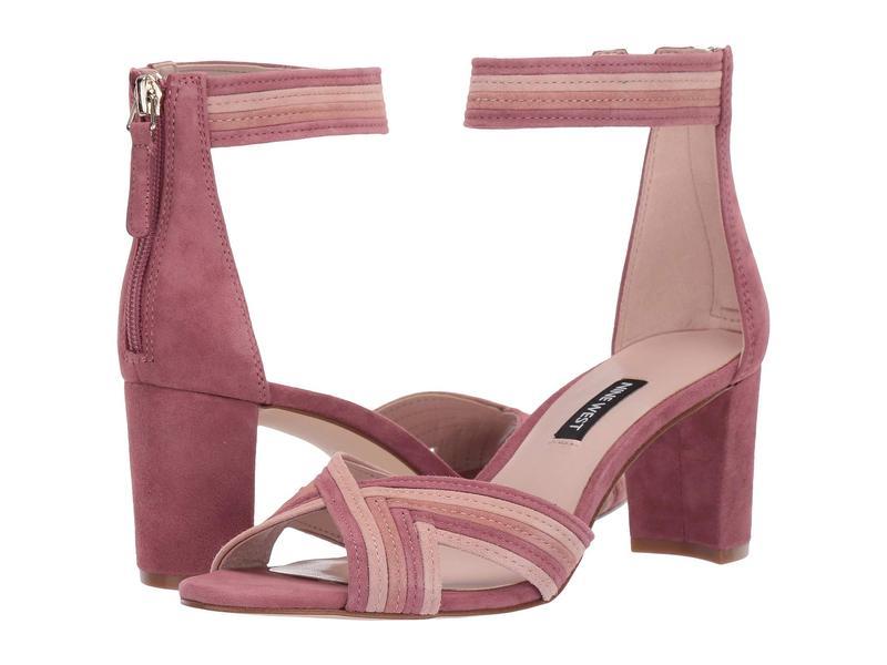 ナインウェスト レディース ヒール シューズ Pearl Heeled Sandal Peony/Modern Pink/Dusty Coral