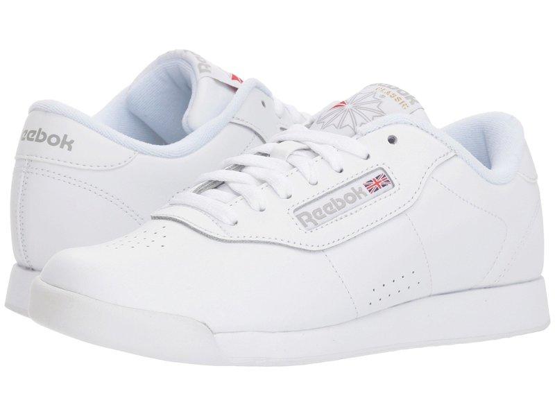リーボック レディース スニーカー シューズ Princess Leather White