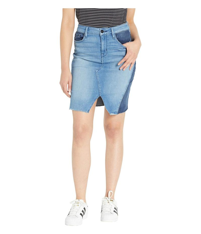 サンクチュアリー レディース スカート ボトムス Sia A-Line Skirt Noho Arts Blue