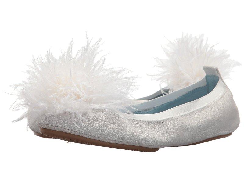 ヨシサムラ レディース サンダル シューズ Marry Me Marabou White Leather/Pom