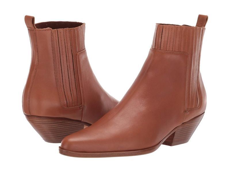 ヴィンス レディース ブーツ・レインブーツ シューズ Eckland Caramel Lucca Leather