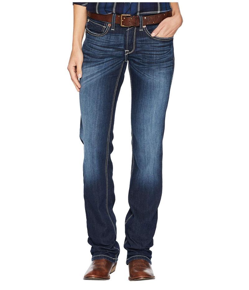 アリアト レディース デニムパンツ ボトムス R.E.A.L.¢ Straight Ella Jeans in Willow Willow