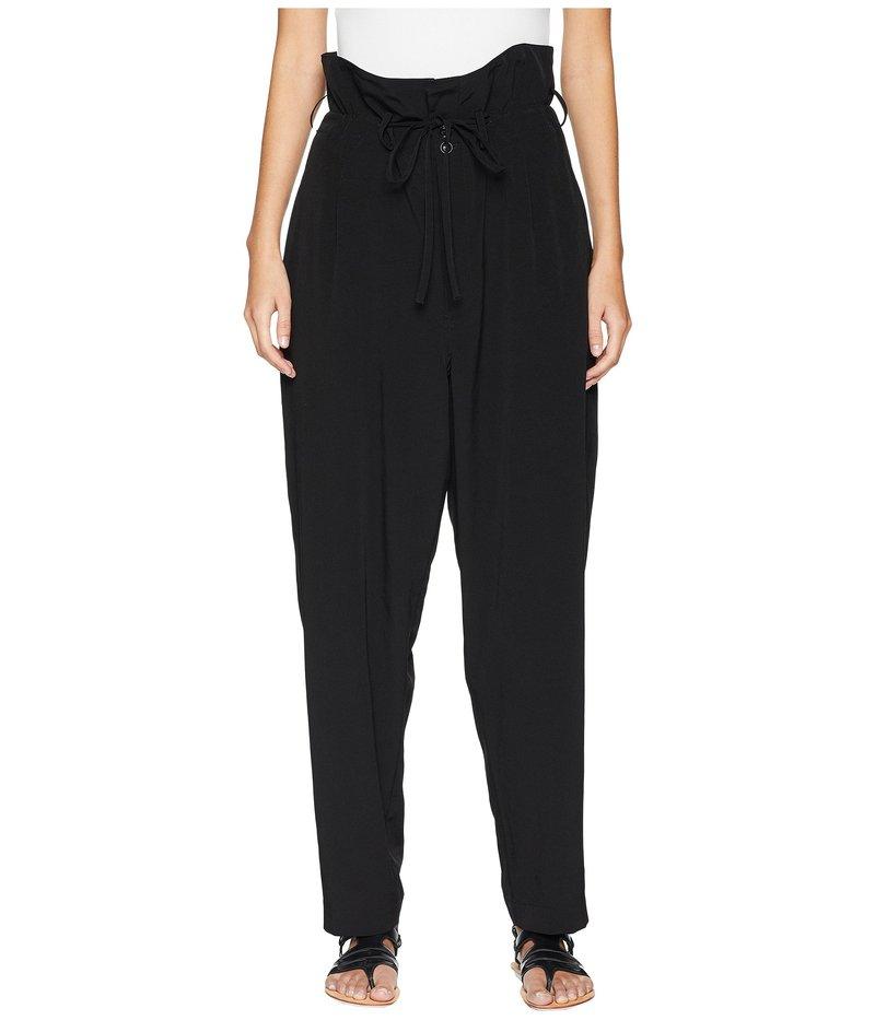 ワイズバイヨウジヤマモト レディース カジュアルパンツ ボトムス U-High-Waist Pants Black