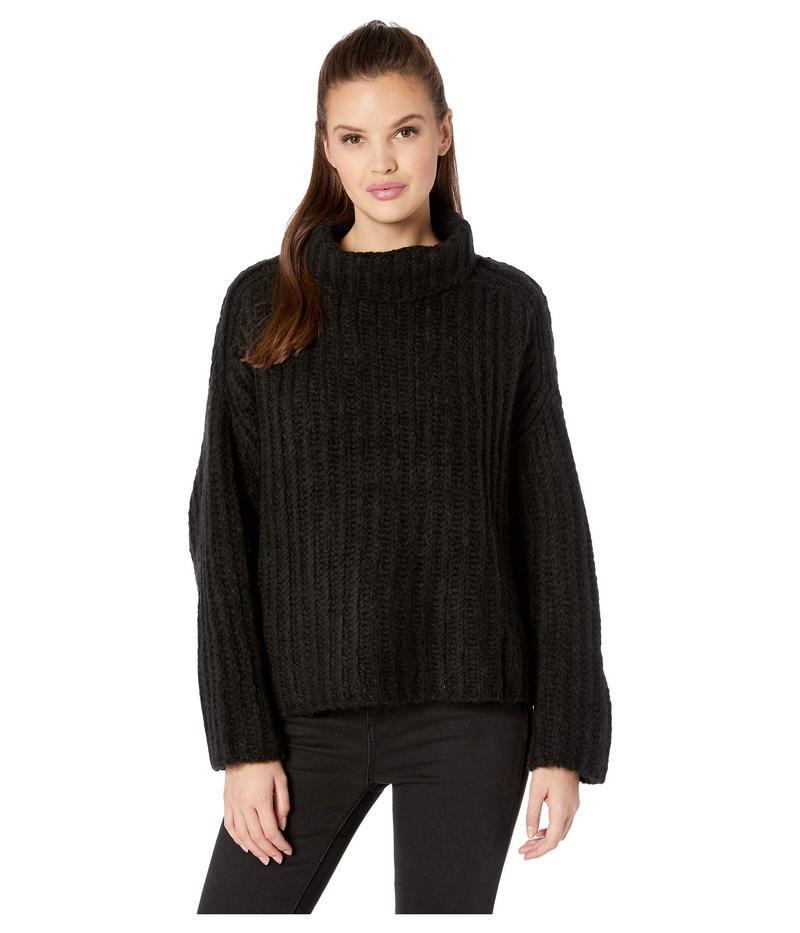 フリーピープル レディース ニット・セーター アウター Fluffy Fox Sweater Black