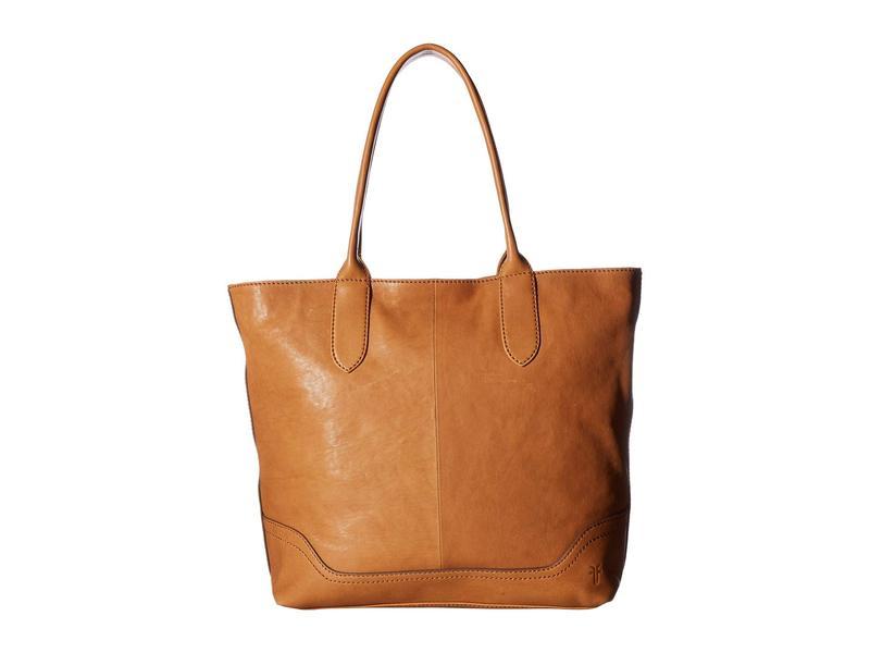 フライ レディース ハンドバッグ バッグ Madison Zipper Tote Tan Soft Vintage Leather