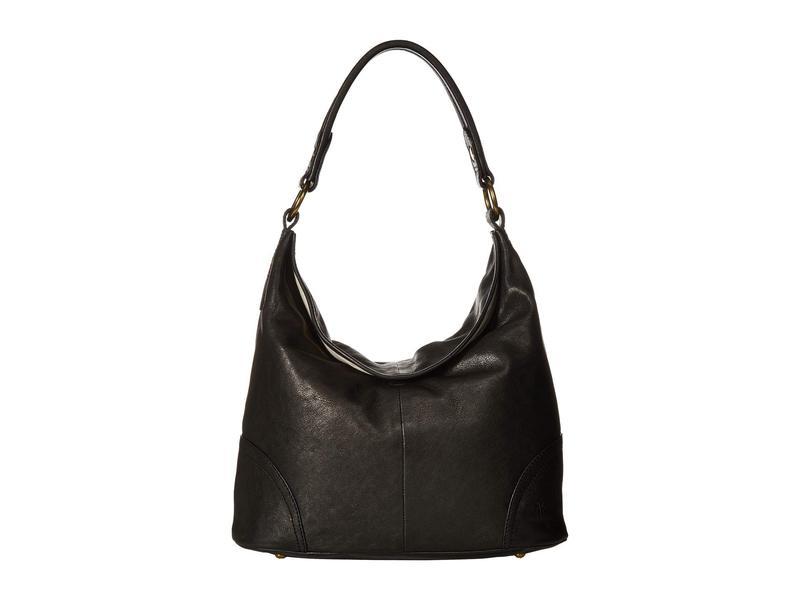 フライ レディース ハンドバッグ バッグ Madison Hobo Black Soft Vintage Leather