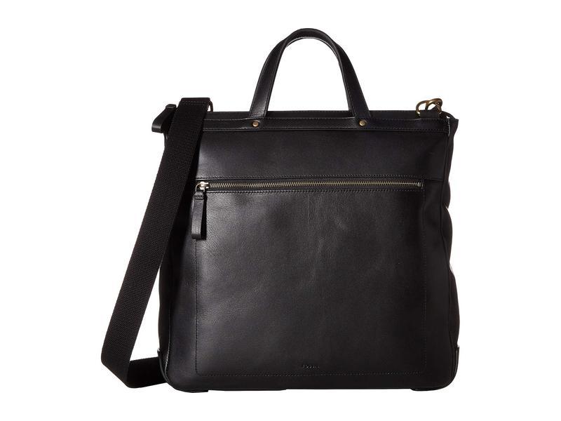 フォッシル メンズ ビジネス系 バッグ Haskell North/South Workbag Black